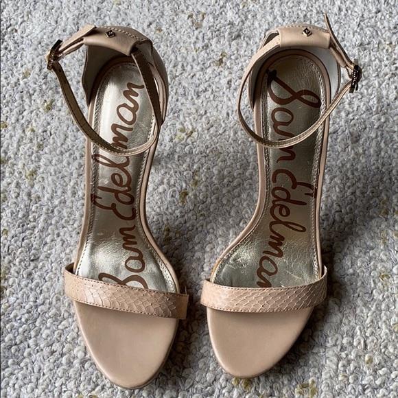 Sam Edelman Shoes - Sam Edelman tan heels